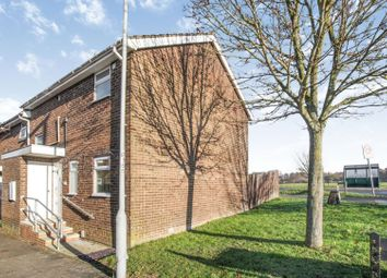 Thumbnail 3 bed end terrace house for sale in Denham Close, Luton