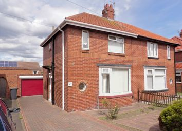 Thumbnail 2 bed semi-detached house for sale in Harton House Road, South Shields