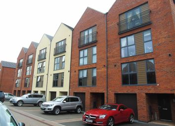 Thumbnail 4 bed town house for sale in Yr Hafan, Marina, Swansea