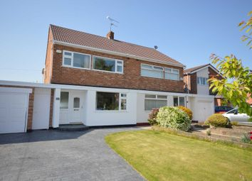 Thumbnail 3 bed semi-detached house for sale in Keswick Avenue, Bromborough, Wirral