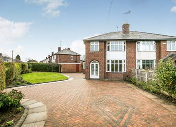 Thumbnail 3 bed semi-detached house for sale in Egerton Drive, Chester