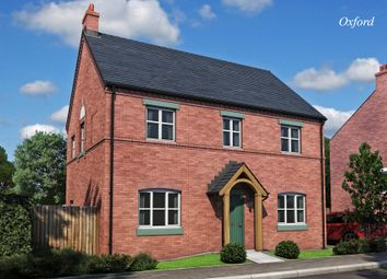Thumbnail 4 bed detached house for sale in The Oxford, Burton Road Tutbury, Staffordshire
