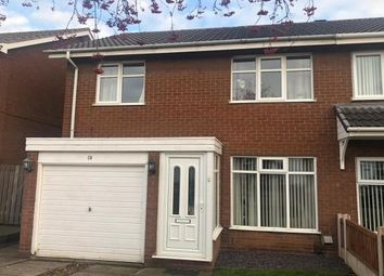 Thumbnail 3 bed semi-detached house to rent in Norwich Close, Lichfield, Staffordshire