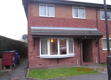 Thumbnail 1 bed flat to rent in Tolkien Way, Stoke On Tent