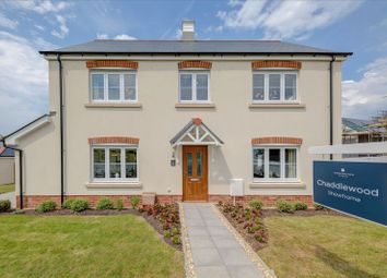 Thumbnail 4 bed detached house for sale in Aberdeen Avenue, Plymouth