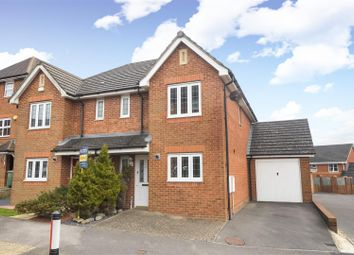 Thumbnail 3 bed semi-detached house for sale in Rycroft Meadow, Beggarwood, Basingstoke