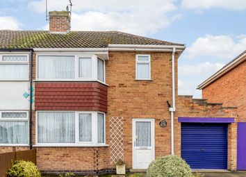 Thumbnail 2 bed semi-detached house for sale in Sandringham Avenue, Leicester, Leicestershire