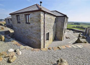 Thumbnail 4 bed detached house for sale in Rockhead, Delabole, Cornwall