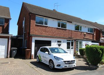 Thumbnail 3 bed semi-detached house to rent in Broomfield Avenue, Fazeley, Tamworth