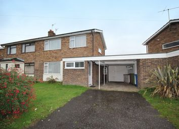 Thumbnail 3 bed semi-detached house for sale in The Ridgeway, Norwich