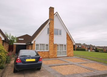 Thumbnail 3 bed detached house for sale in Lely Close, Bedford