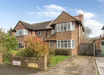 Thumbnail 3 bedroom semi-detached house for sale in Ash Close, New Malden