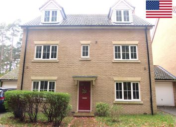 Thumbnail 5 bedroom detached house to rent in Heathland Way, Mildenhall, Bury St. Edmunds