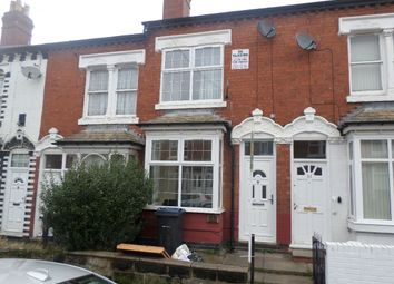 Thumbnail 3 bedroom terraced house for sale in Ashbourne Road, Edgbaston, Ojt