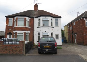 Thumbnail 3 bed semi-detached house for sale in Eastfield Road, Hull