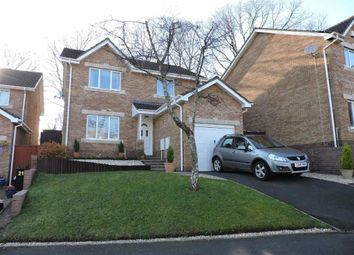 Thumbnail 4 bed detached house for sale in Maes Y Cornel, Rhos, Pontardawe, Swansea
