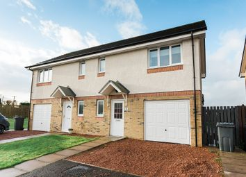 Thumbnail 3 bed semi-detached house for sale in Sandypoint Court, Dumfries