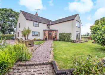 Thumbnail 4 bed detached house for sale in Bunsley Bank, Audlem, Crewe