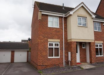 Thumbnail 3 bed property to rent in Curbar Close, Mansfield
