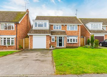 Thumbnail 4 bed detached house for sale in Vickers Close, Shinfield, Reading
