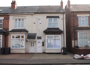 Thumbnail 4 bedroom town house for sale in Wilton Road, Handsworth, Birmingham