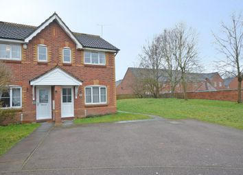 Bronte Close, Rugby CV21. 2 bed end terrace house for sale
