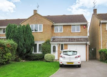 Thumbnail 4 bedroom detached house for sale in Cromwell, Freshbrook, Swindon
