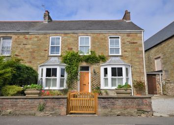 Thumbnail 4 bedroom semi-detached house for sale in Vicarage Road, St. Agnes, Cornwall
