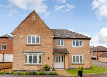Thumbnail 5 bed detached house for sale in Martinshaw Close, Bradgate Heights, Leicester, Leicestershire