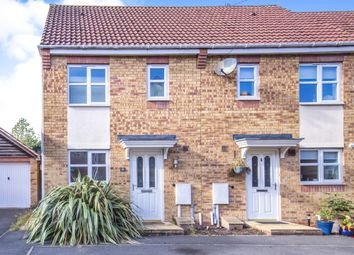 Thumbnail 2 bed end terrace house for sale in Marriott Close, Leicester Forest East, Leicester