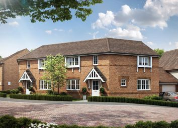 "Thumbnail 3 bedroom semi-detached house for sale in ""Faringdon II"" at Robell Way, Storrington, Pulborough"