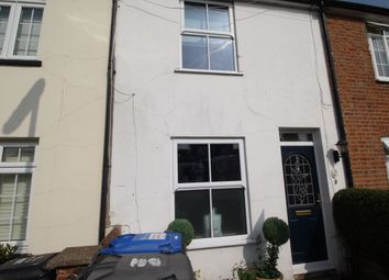 Thumbnail 3 bed terraced house to rent in Armstrong Road, Englefield Green, Egham