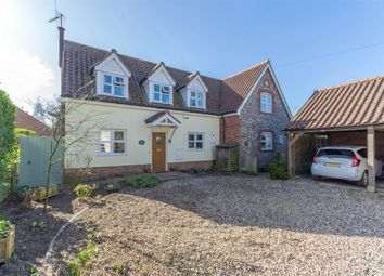 Thumbnail 2 bed semi-detached house for sale in High Street, Tittleshall, King's Lynn