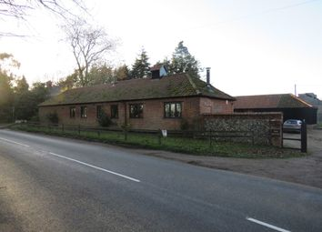 Thumbnail 3 bed detached house for sale in Weston Hall Road, Weston Longville, Norwich