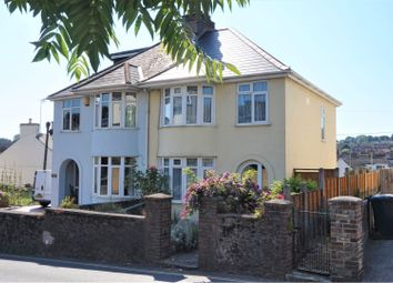 Thumbnail 3 bed semi-detached house for sale in Burton Street, Brixham
