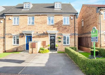 Thumbnail 3 bed terraced house for sale in Gibsons Court, Blaydon-On-Tyne