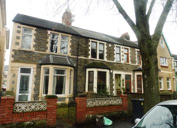 Thumbnail 3 bed terraced house for sale in Stacey Road, Roath, Cardiff