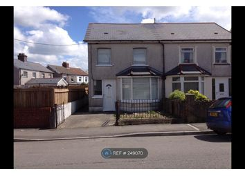 Thumbnail 3 bed semi-detached house to rent in Gelligaer Road, Caerphilly