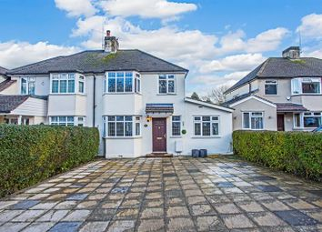 Thumbnail 3 bed semi-detached house for sale in Markfield Road, Caterham