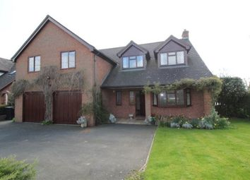 Thumbnail 5 bed detached house to rent in Vicarage Lane, Kinnerley, Shropshire