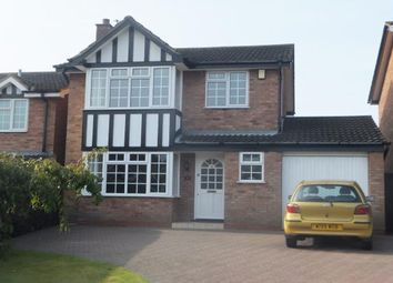 Thumbnail 3 bed detached house to rent in The Pines, Lichfield