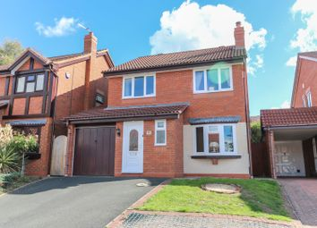 Thumbnail 4 bed detached house for sale in Penleigh Gardens, Wombourne, Wolverhampton
