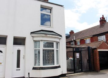 Thumbnail 2 bed end terrace house to rent in Longford Street, Middlesbrough