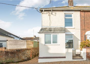 Thumbnail 2 bed end terrace house for sale in Belvedere Drive, Kessingland, Lowestoft