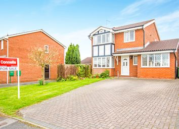 Thumbnail 5 bedroom detached house for sale in Squirrel Close, Narborough, Leicester