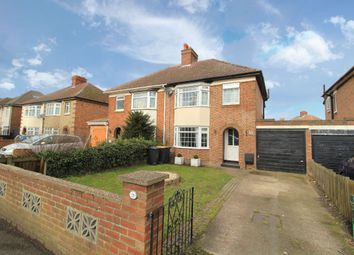 Thumbnail 3 bed semi-detached house for sale in Mile Road, Bedford, Bedfordshire