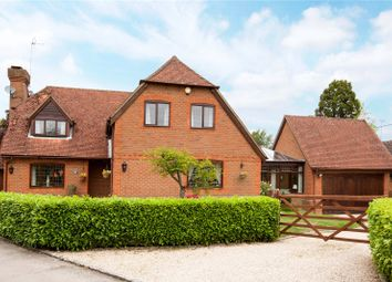 Thumbnail 5 bedroom detached house for sale in Russett Close, Riseley, Reading, Berkshire
