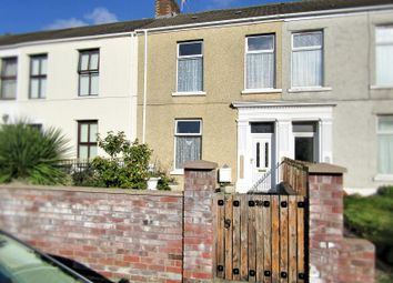 3 bed terraced house for sale in Lakefield Place, Llanelli, Carmarthenshire. SA15