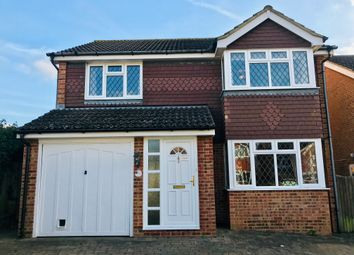 Thumbnail 4 bedroom detached house to rent in Grasmere Close, North Langney