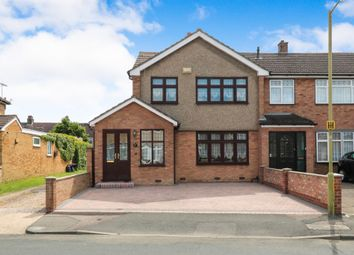 Thumbnail 3 bed end terrace house for sale in Ashdown Crescent, Cheshunt, Waltham Cross